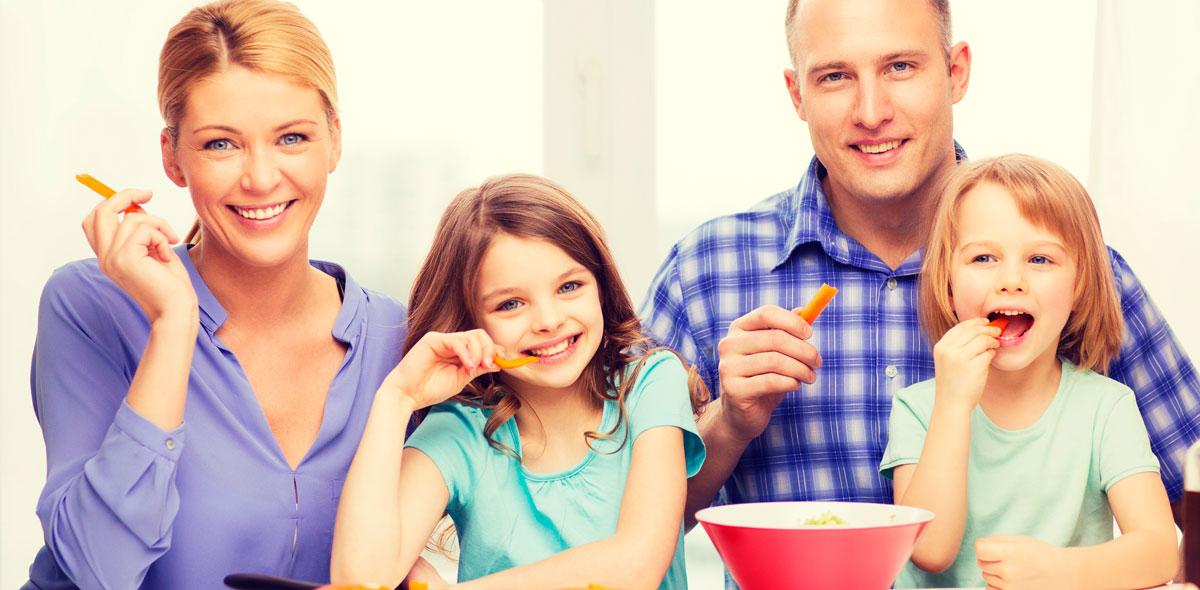 Os pais têm responsabilidade pela boa alimentação do filho