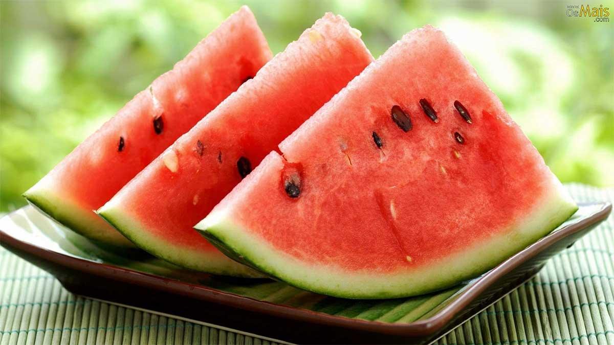Os benefícios da melancia
